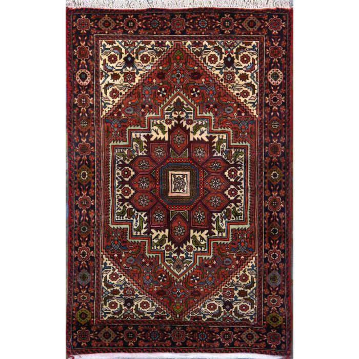 "https://www.armanrugs.com/ | 2' 7"" x 4' 0"" Beige Bijar Hand Knotted Wool Authentic Persian Rug"