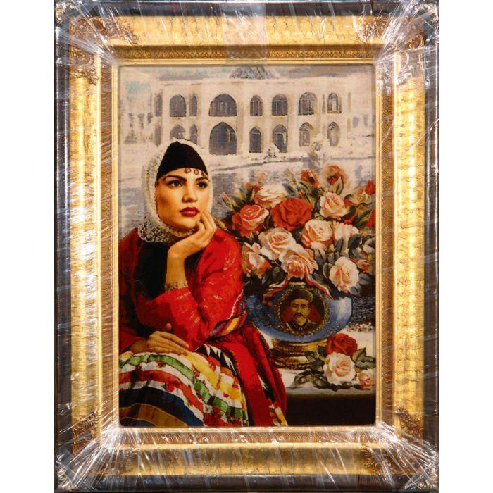 "https://www.armanrugs.com/   2'0"" x 2'9"" Beige Tabriz Hand Knotted Wool & Silk Authentic Persian Rug"