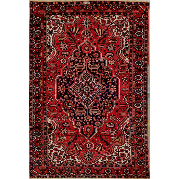 "https://www.armanrugs.com/ | 6' 9"" x  10' 0"" Red Bakhtiari Hand Knotted Wool Authentic Persian Rug"