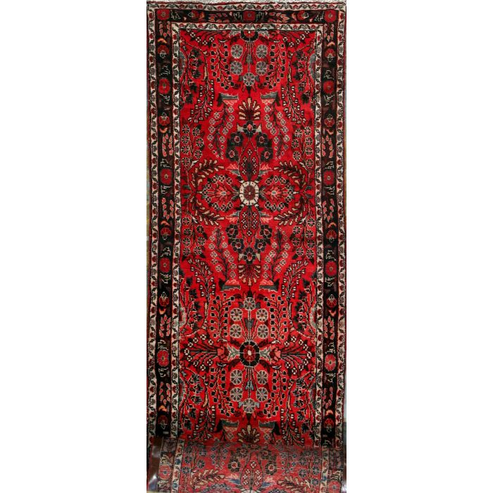 "https://www.armanrugs.com/ | 2' 9"" x 19' 6"" Red Mehraban Hand Knotted Wool Authentic Persian Rug"