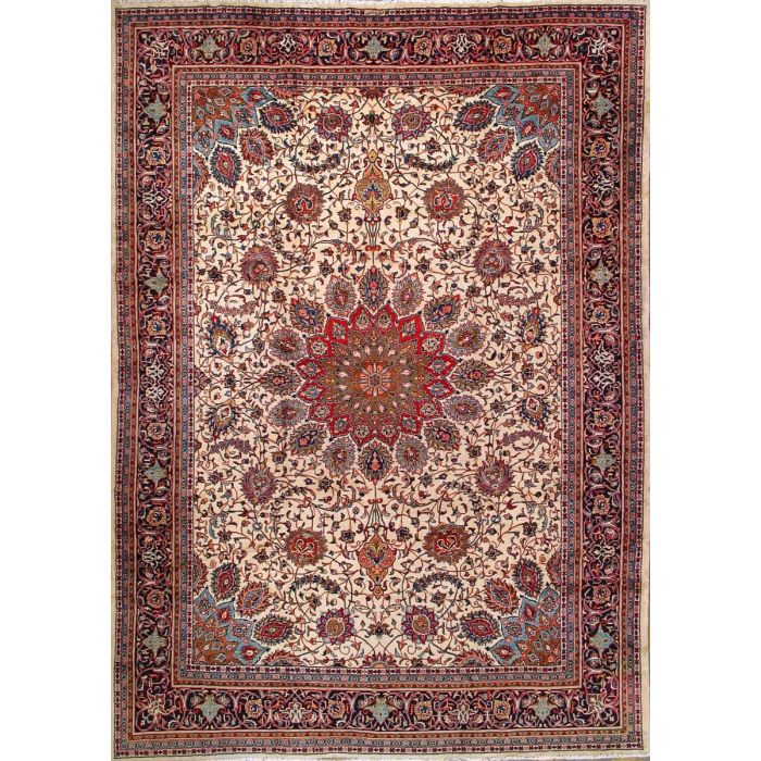 "https://www.armanrugs.com/ | 9' 3"" x 13' 1"" Beige Sarough Hand Knotted Wool Authentic Persian Rug"