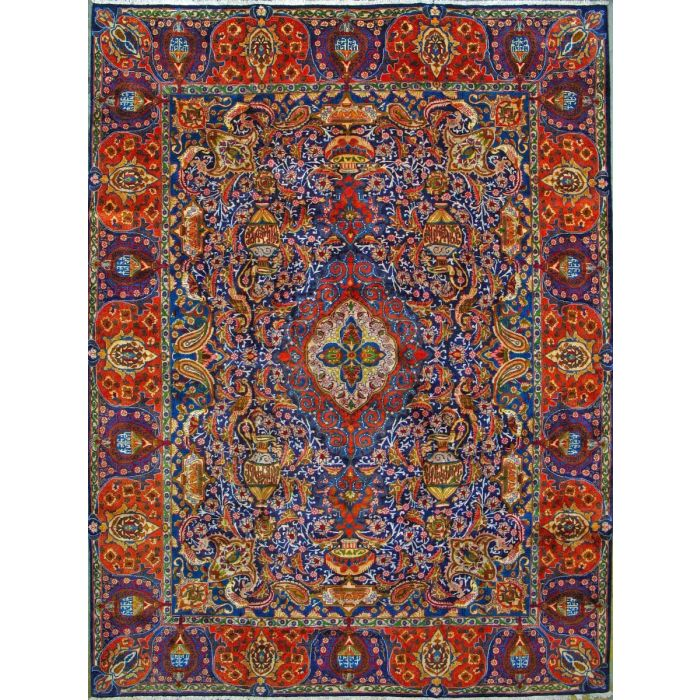 "https://www.armanrugs.com/ | 9' 10"" x 13' 1""  kashmar Hand Knotted Wool Authentic Persian Rug"