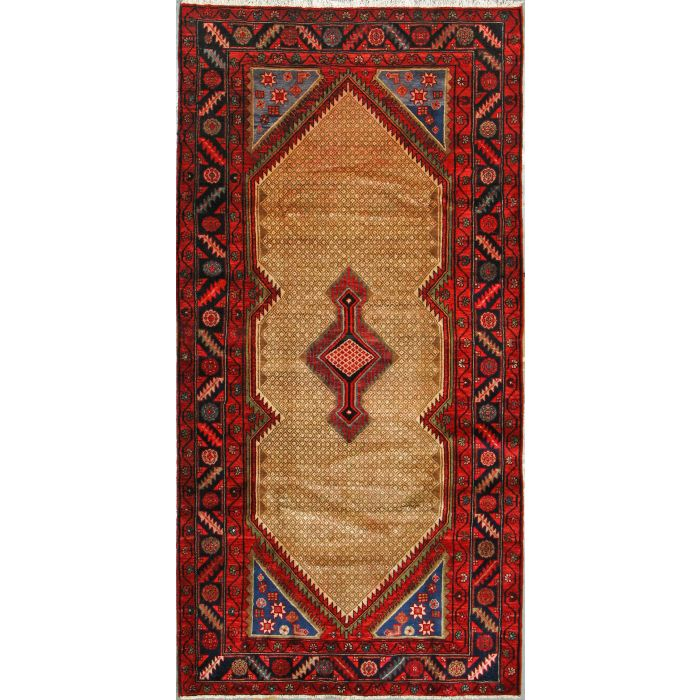 "https://www.armanrugs.com/ | 4' 3"" x 8' 6""  Hamadan Hand Knotted Wool Authentic Persian Rug"
