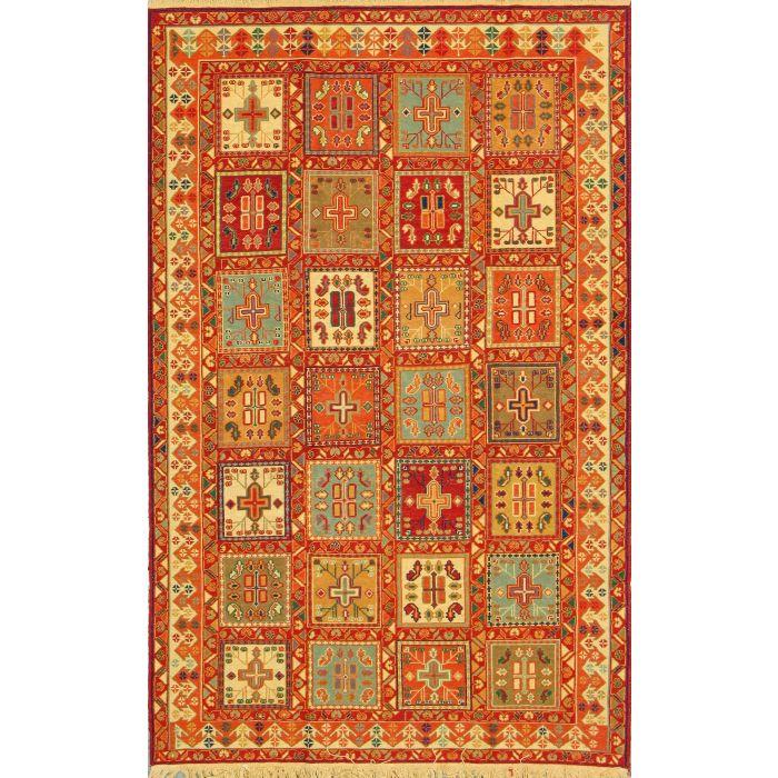 "https://www.armanrugs.com/   4' 3"" x 6' 6""  kilim Handmade Wool Authentic Persian Rug"