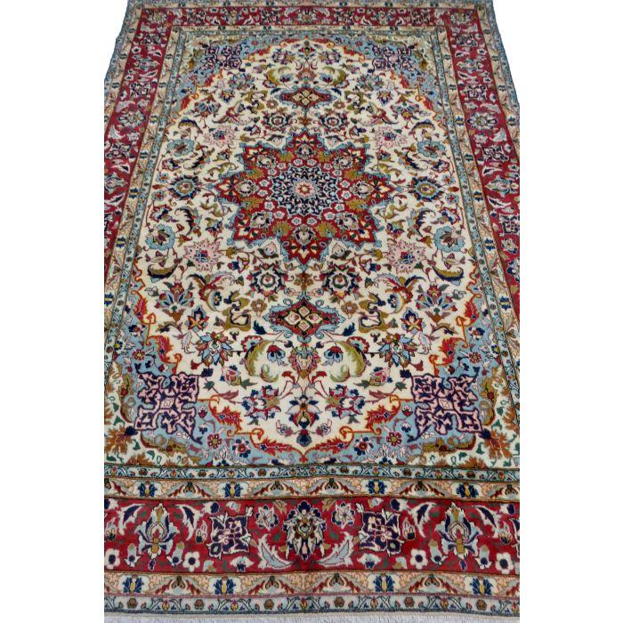 "https://www.armanrugs.com/ | 6' 8"" x 10' 1"" Beige Najafabad Handmade Wool Authentic Persian Rug"