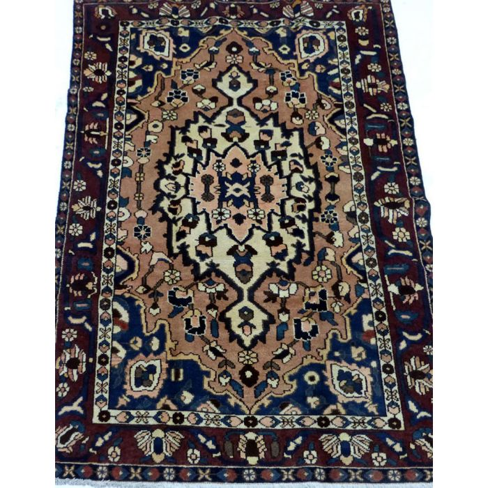 "https://www.armanrugs.com/   5' 3"" x 7' 10"" Red Bakhtiari Handmade Wool Authentic Persian Rug"